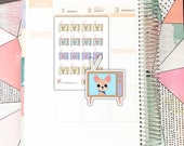 Sheldon TV // Planner Stickers