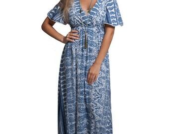 Boho Dress, long dress, Long dress, Bohemian Dress, summer dress, Dress, Gypsie dress
