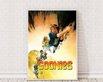 The Goonies Poster Art Film Poster Classic Movie Poster
