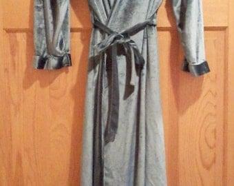 Vintage Turquoise Robe