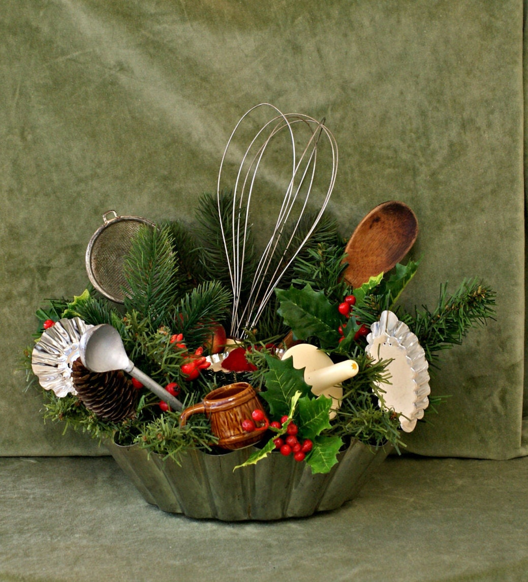 Kitchen Decor Christmas: Christmas Kitchen Decor Rustic Christmas By