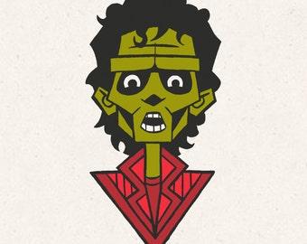 Thriller Screenprint