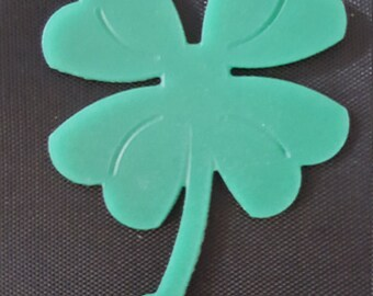 3D Printed Clover Key chain  charm(Quanity of 5)