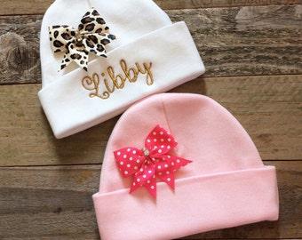 Personalized Preemie Beanie Hat