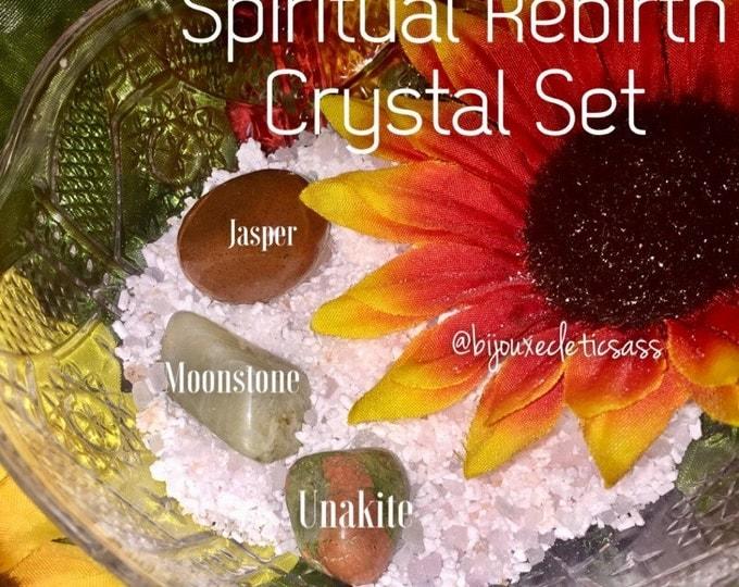 Spiritual Renewal Rebirth Crystal Set