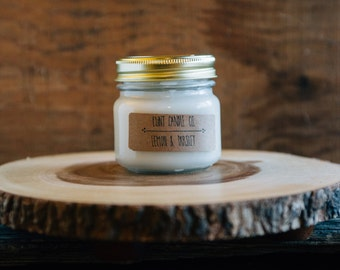 Lemon & Parlsey - Scented Soy Candle 7oz