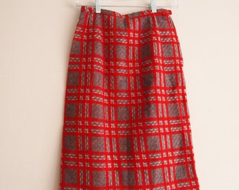 Pretty In Plaid Pencil Skirt