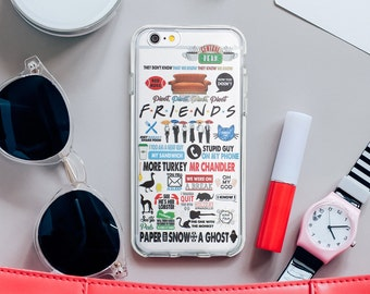 Friends TV Show Phone Case iPhone 7 Case iPhone 6S Case Samsung S8 Plus iPhone 5 Case For Samsung Galaxy S7 Case To Samsung S6 041