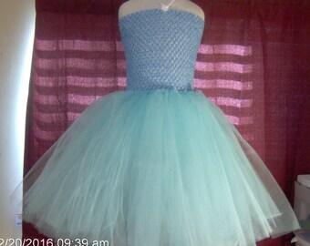 Alice in wonderland tutu dress for girls