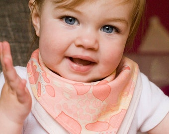 Baby Bandana Bibs  - Set of 3 (as pictured) - Free Shipping!
