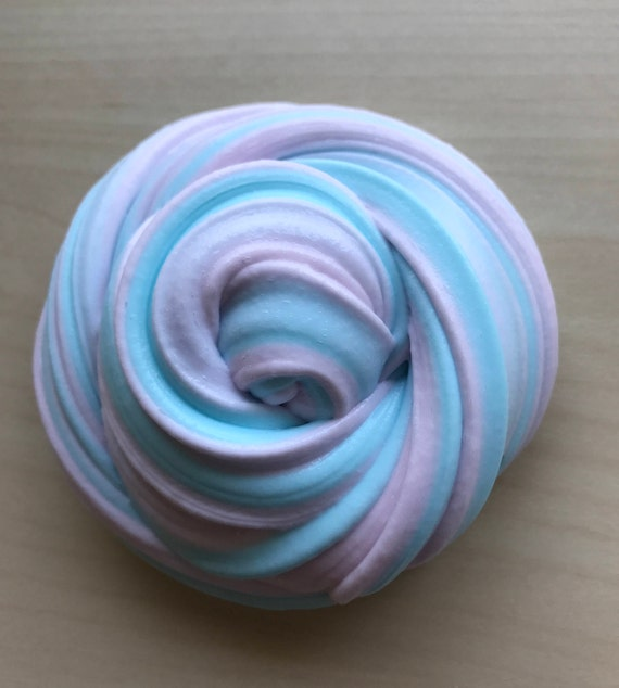 8oz Big Ultimate Bubblegum Cotton Candy Blue And Pink Pastel