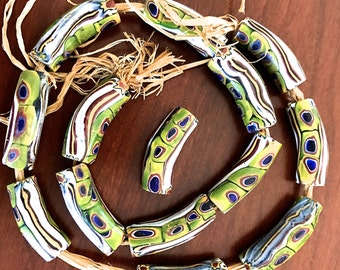 Matched Vintage Trade Beads, African Trades Beads, Elbow Shaped Trade Beads, Buy More and Save