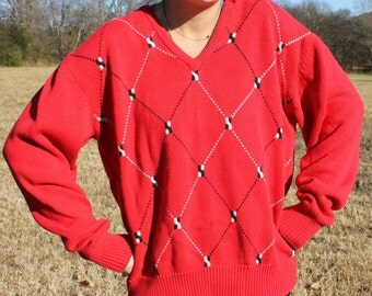 Vintage Sweater Comfort Swag Class all in one Size Medium
