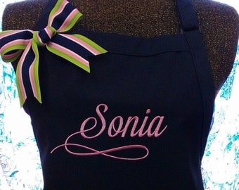 Personalied Apron Chef Gourmet Cooking Gift