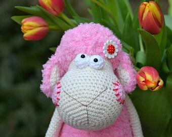 Handmade crocheted sheep / the Easter decoration / Vendulka Maderska Design