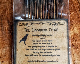 Highly Scented Hand Dipped Incense ~ Made Fresh to order 25 sticks