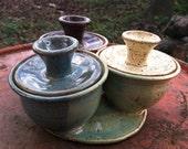 Three Spice Holder, Spice jar, Organizing Jar