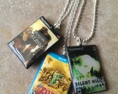 Custom Video game case necklace - Xbox, PlayStation, Nintendo