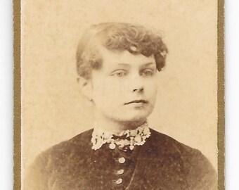 Mini Allentown PA CDV, c. 1880