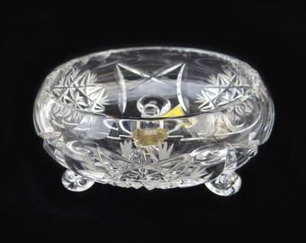 Eastern European Embossed Glass