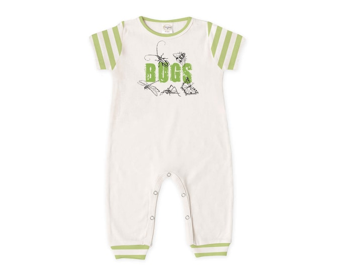 Newborn Boy Coming Home Outfit, Baby Boy Romper, Baby Boy Outfit, Baby Boy Coming Home Outfit, Bugs, Bugs Romper, TesaBabe