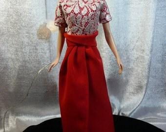 OOAK for doll Barbie Silkstone Fashion Royalty