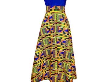 Kente Circle Skirt