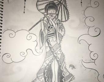 Etherial Geisha