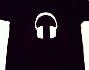 Headphones T Shirt