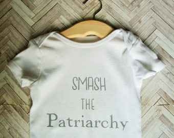 Smash the Patriarchy Activist Baby Shirt