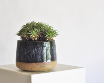 Sleek Modern Ceramic Planter