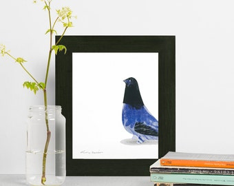 Fine Art Blue Bird Two - 8x10