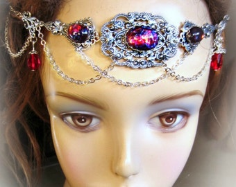 Dragons Breath Opal Circlet