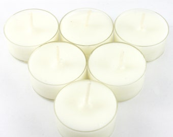 Baby Powder Handmade Premium Quality Highly Scented 6 Tea Light Candles
