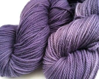 Logwood - Naturally Dyed 100% Superwash Merino  - 100g/225m - DK Yarn