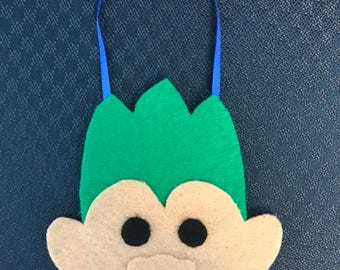 treasure troll felt ornament
