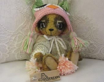 Bear Pablo - teddy bear, OOAK, artist bear, collectible