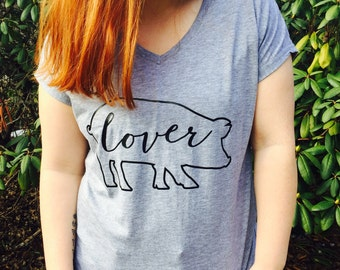 READY TO SHIP! Pig Lover TShirt / Pig Shirt / Pig Lover Gift / Animal Lover Gift / Animal Lover Shirt / Pig Stuff