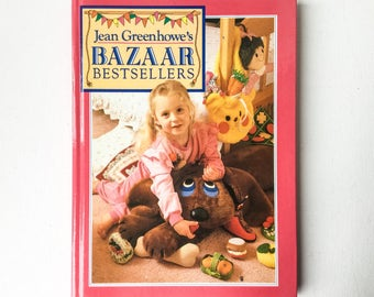 Jean Greenhowe Bazaar Bestsellers Book, 45 Gift and Bazaar Sewing Projects , Crafts Book, Published David and Charles, 1988, Hardback, 01142