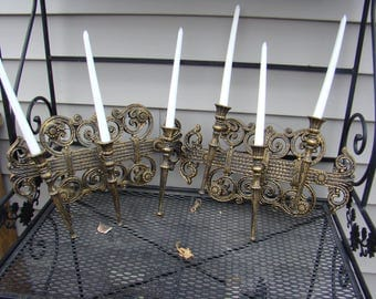 Vintage Hanging Candle Holders