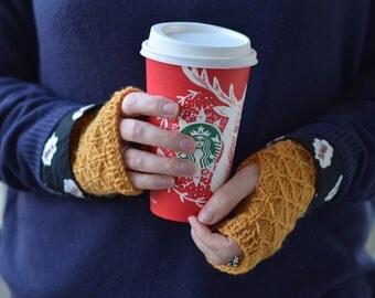 "Mittens ""Marie"". Hand Warmers. 100% wool. Customizable."