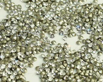 Zirius Chaton 1088 Swarovski Rhinestones PP26 Foiled Crystal