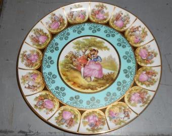 H&W Karlsbader Wertarbeit Hanging Collector's Plate