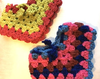 """18"""" Doll Ponchos - Handmade Crochet Poncho and Cape for American Girl Doll 18"""" Doll - Item D60"""