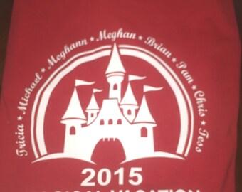 Personalized Disney t shirt