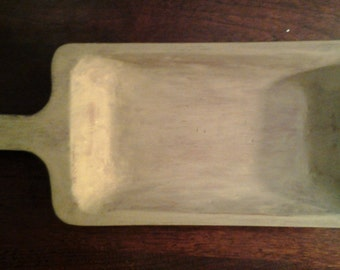 Vintage Hand Hewn Tray