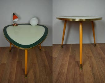 Vintage kidney table, side table, coffee table | unique | 50s | Germany