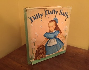 1940 Dilly Dally Sally Book by Marguerite Henry/Vintage Children's Book