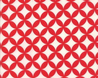 1 Yard Bonnie and Camille Basics by Moda -55111-41 Hello Darling Red
