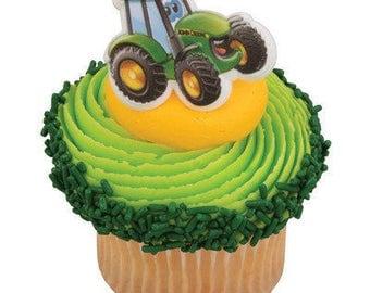 John Deere Tractor Cupcake Toppers #12
